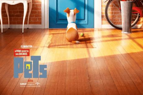 Cine Drive-In SVV - Pets: A Vida Secreta dos Bichos