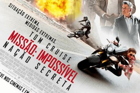 Cine Drive-In SVV - Missão Impossível: Nação Secreta