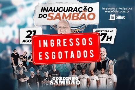 Inauguração do Gordinho Sambão