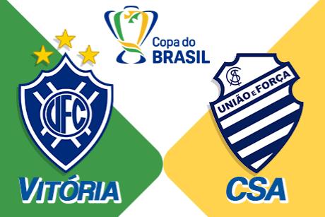 Vitória F.C x CSA Alagoas